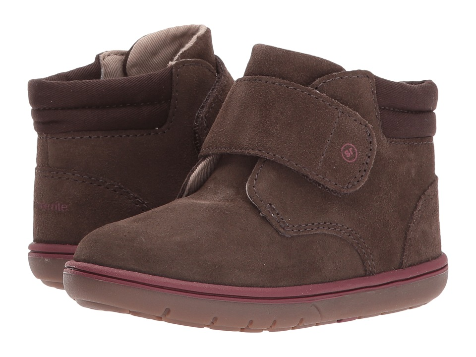 Stride Rite SRTech Lincoln (Toddler) (Brown) Boys Shoes