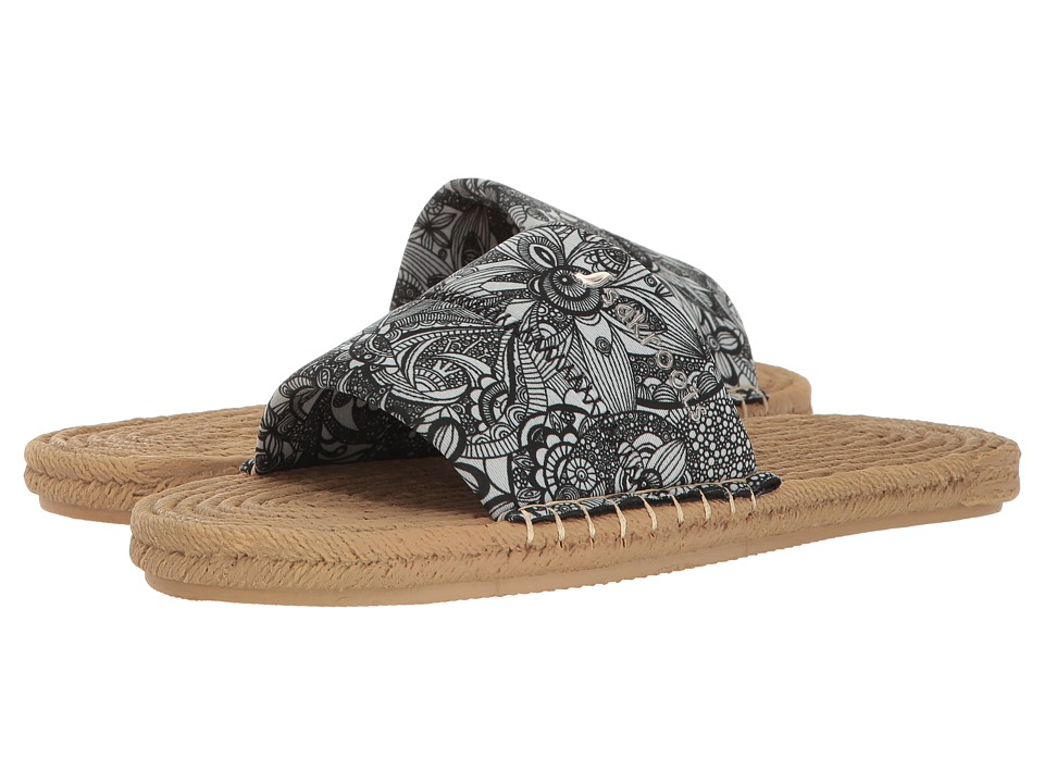 Sakroots - Emi (Black/White Spirit Desert) Women's Sandals