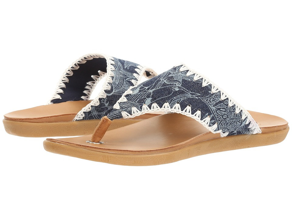 Sakroots - Sarria Artist (Denim Peace) Women's Sandals