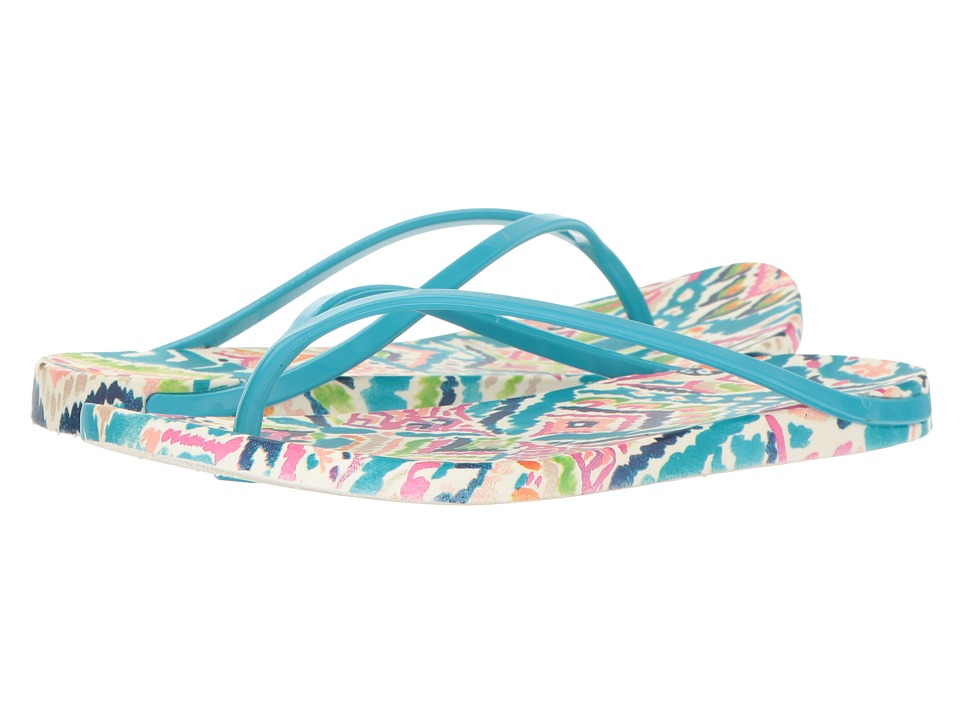 Sakroots - Jetty (Aqua Brave Beauti) Women's Sandals