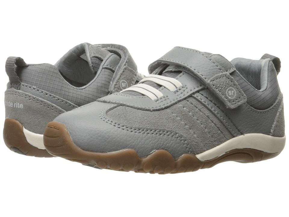 Stride Rite SRT Prescott (Toddler) (Grey 1) Boy's Shoes