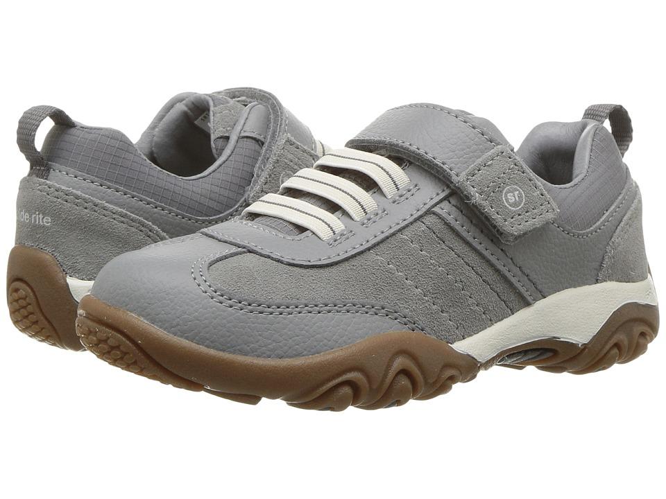Stride Rite SRT PS Prescott (Toddler/Little Kid) (Grey) Boy's Shoes