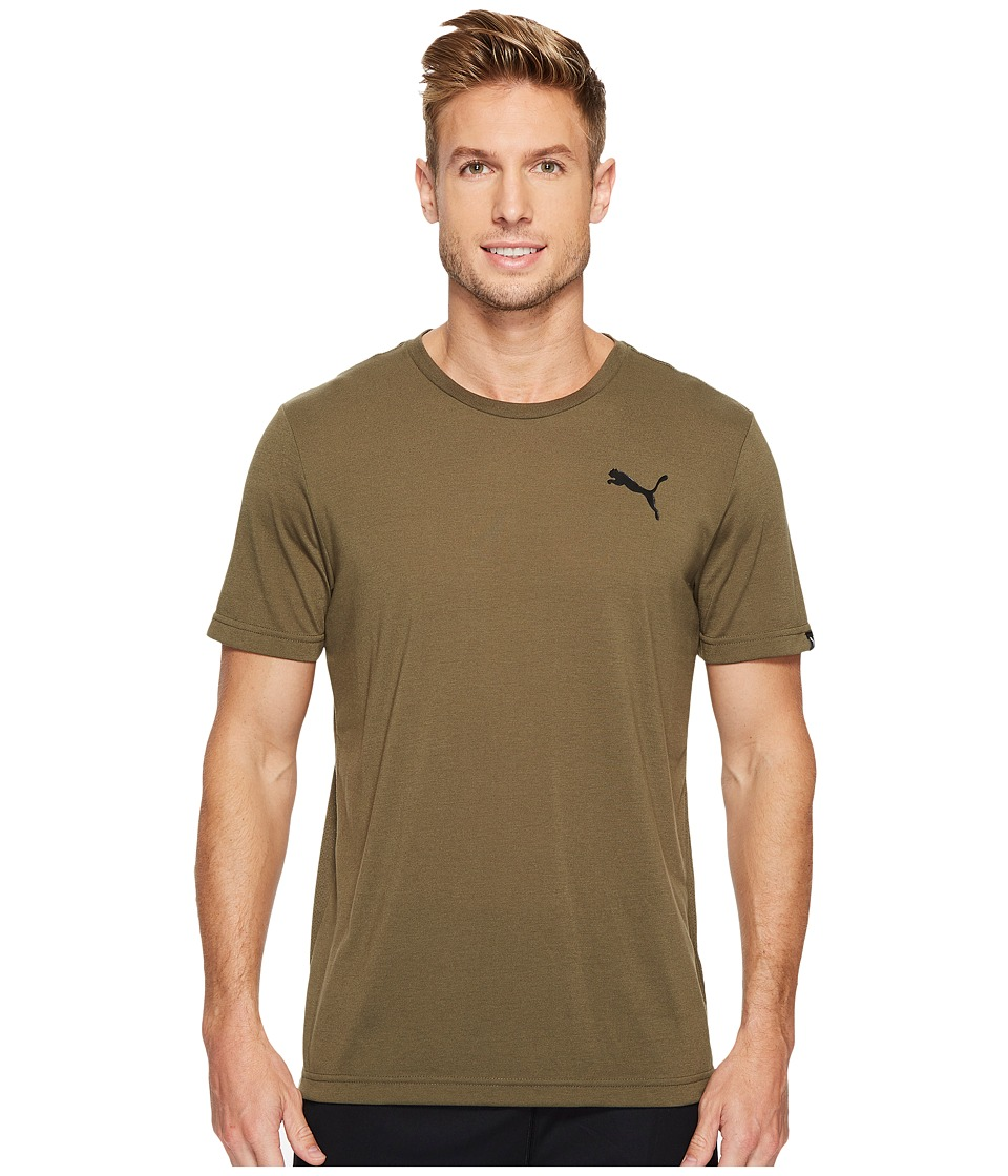 PUMA Active Tee (Olive Night) Men