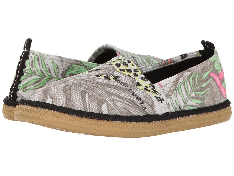Sakroots Eton (Neon Wild Life) Women's Slip on Shoes
