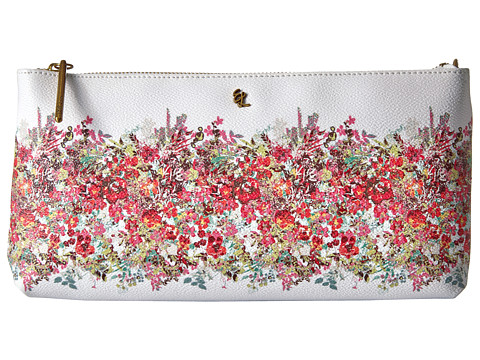 Elliott Lucca Artisan 3 Way Demi Clutch - White Bouquet
