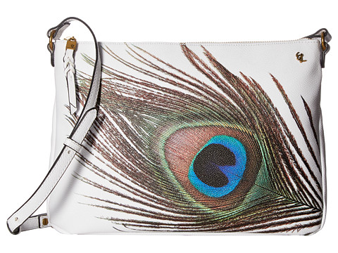 Elliott Lucca Mari Medium Crossbody - White Peacock