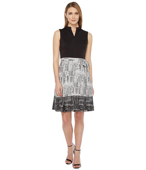 Ellen Tracy Printed Skirt Dress