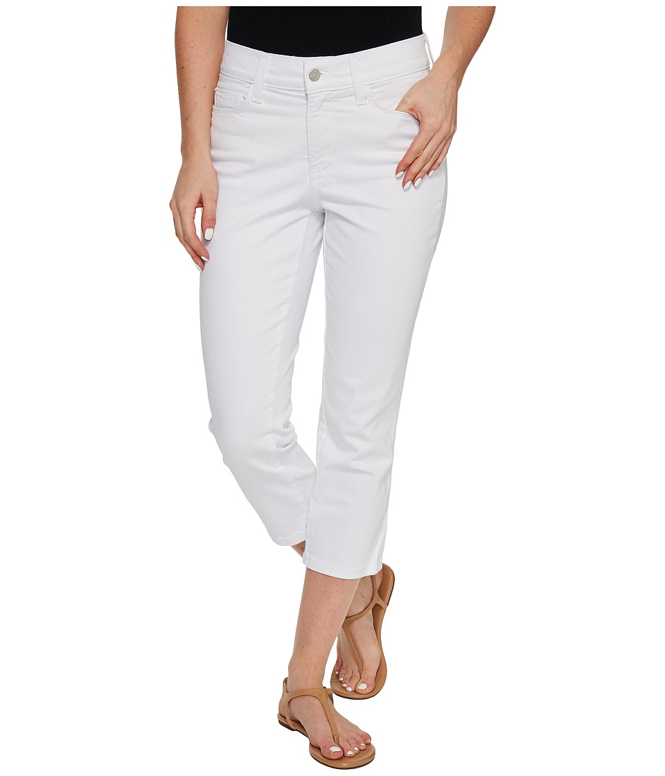 NYDJ NYDJ - Alina Capris in Optic White