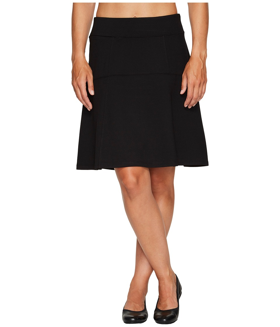 Royal Robbins Lucerne Ponte Swingy Skirt (Jet Black) Women