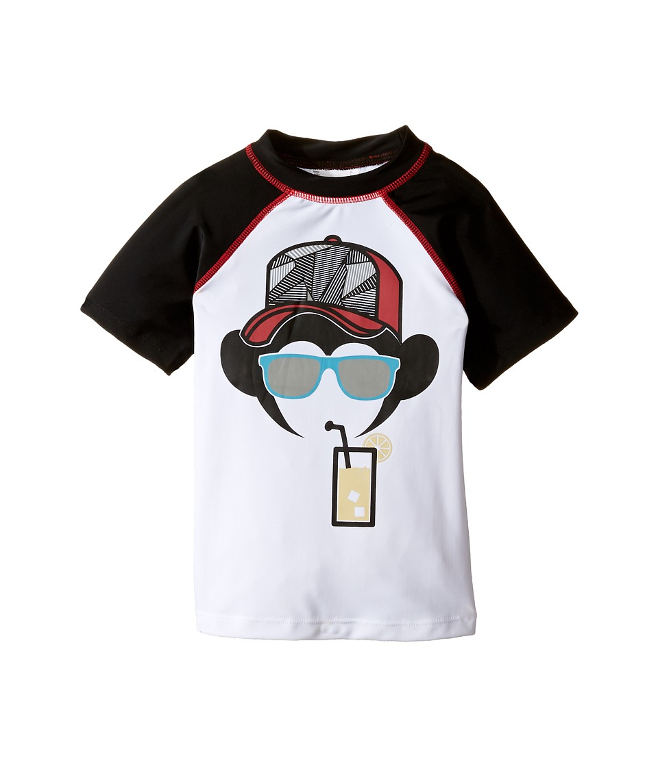 Appaman Kids Rashguard (Toddler/Little Kids/Big Kids) (Black) Boy