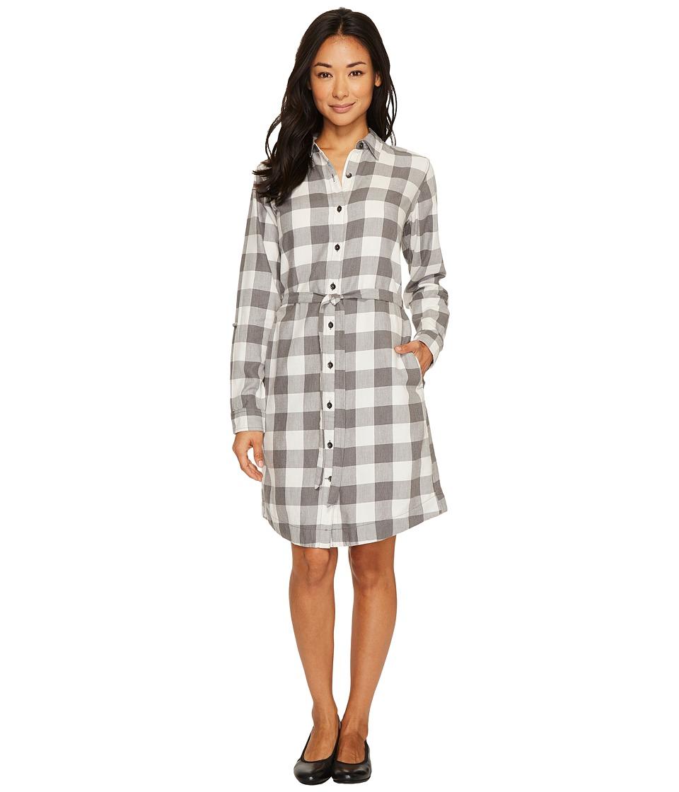 Royal Robbins Jackson Plaid Dress (Creme) Women