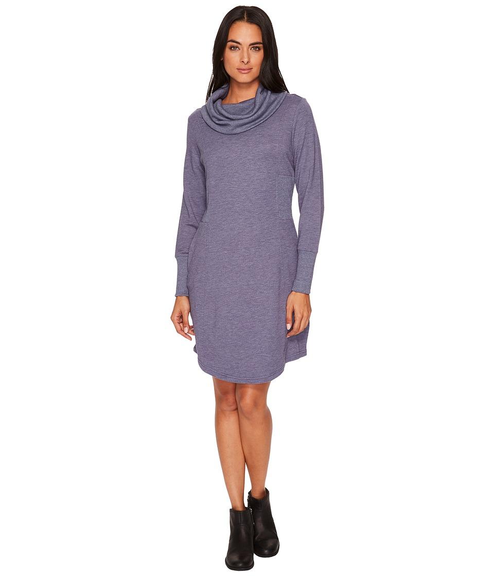 Royal Robbins Channel Island Dress (Blue Indigo) Women