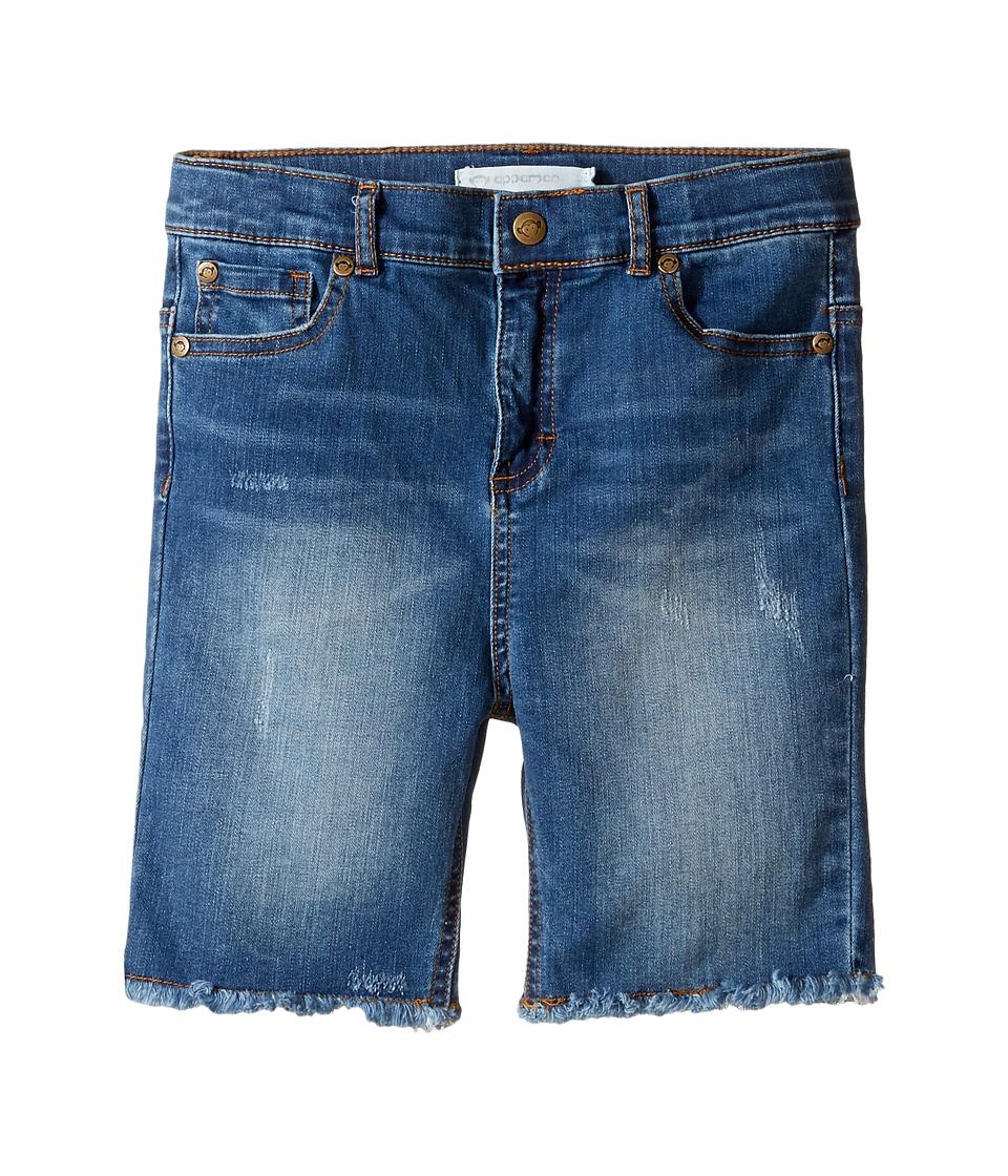 Appaman Kids - Raw Edge Denim Shorts