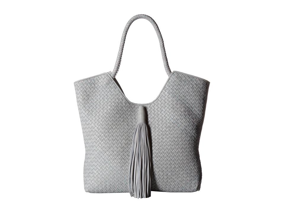 Sam Edelman Kiara Woven Tote (Denim) Tote Handbags