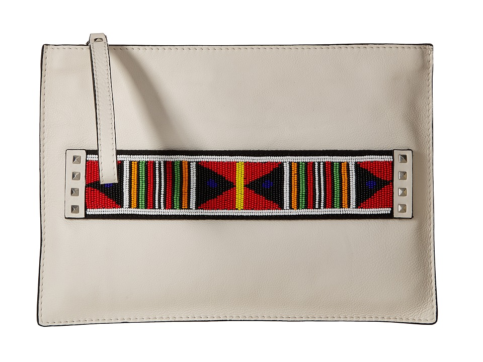Sam Edelman Nia Clutch (Modern Ivory) Clutch Handbags