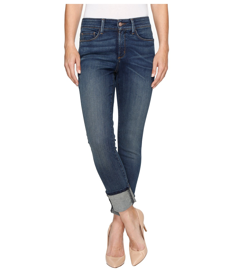 NYDJ - Alina Wide Cuff Ankle in Oak Hill (Oak Hill) Womens Jeans