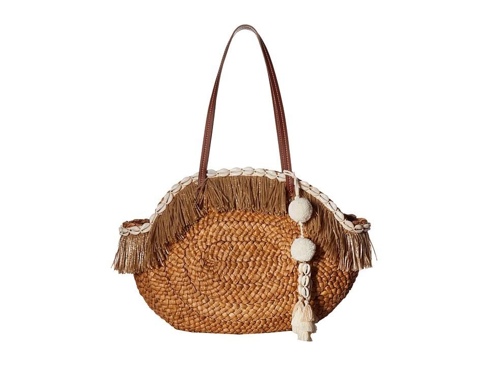 Sam Edelman - Isabella Straw Tote (Natural) Tote Handbags