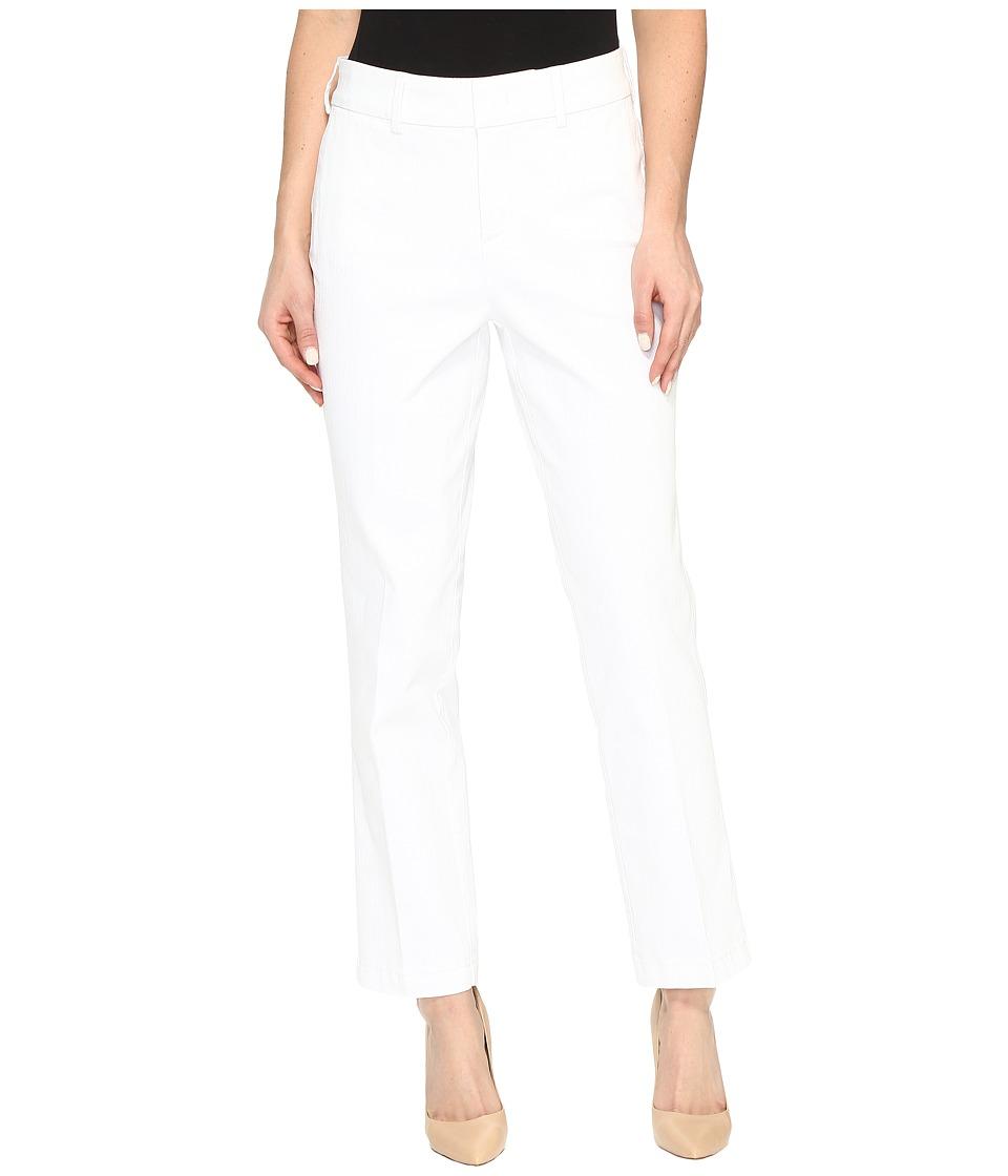 NYDJ Ankle Trousers in Optic White (Optic White) Women
