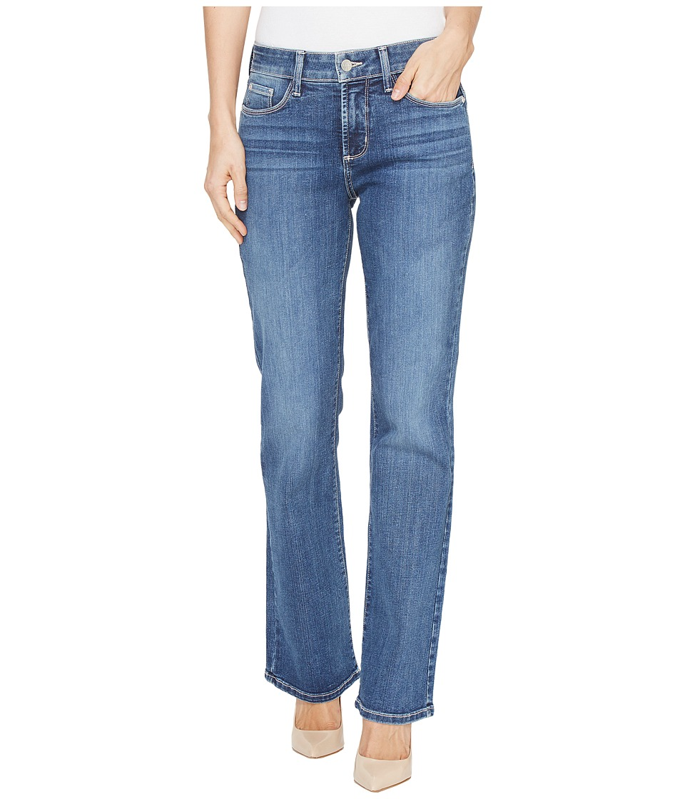 NYDJ - Barbara Bootcut w/ Short Inseam in Heyburn Wash (Heyburn Wash) Womens Jeans