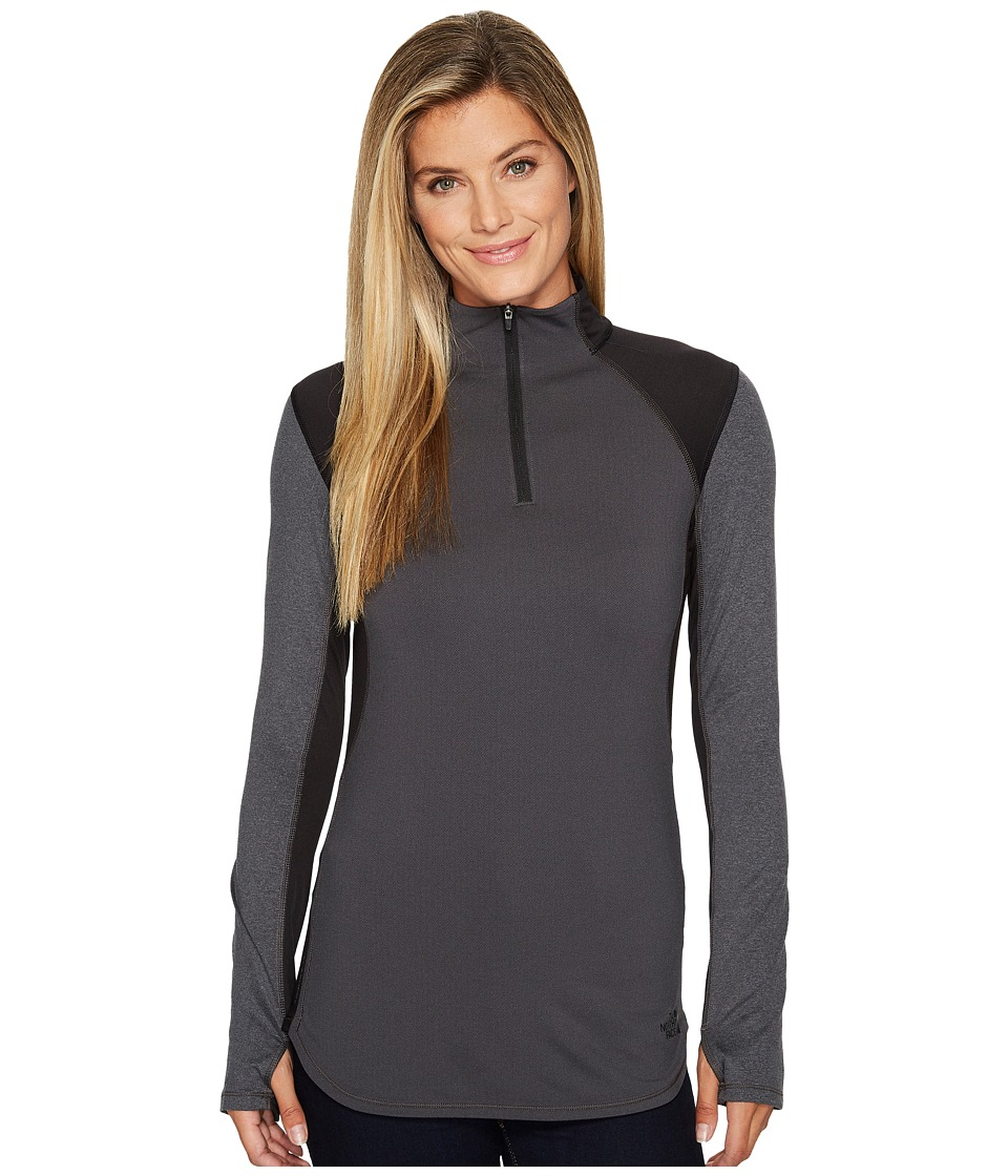 The North Face - Motivation 1/4 Zip (TNF Black) Womens Workout