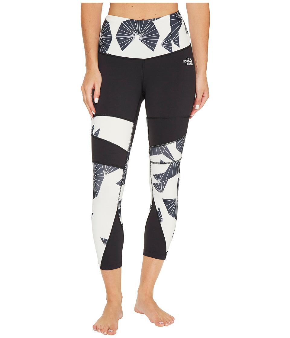 The North Face Motivation Printed Tights (TNF Black Origami Print) Women