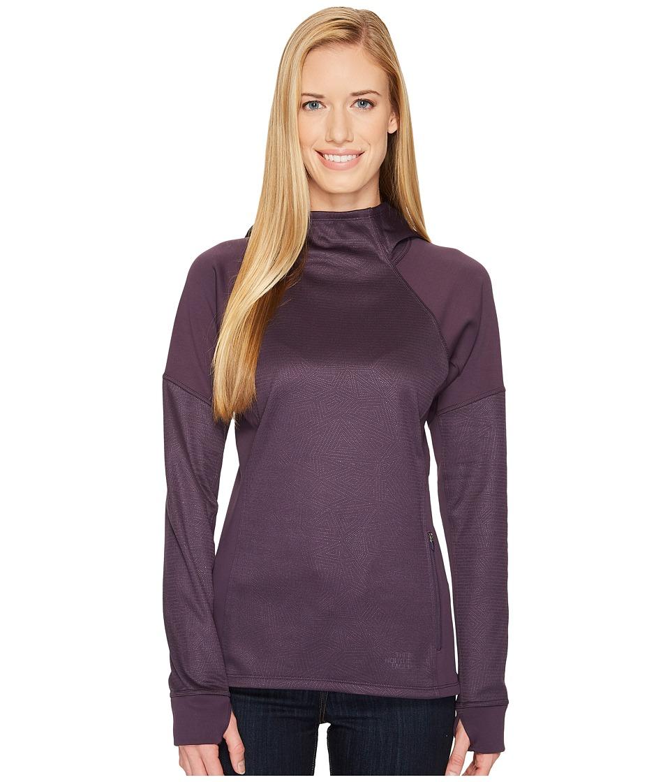 The North Face Versitas Pullover Hoodie (Dark Eggplant Purple) Women