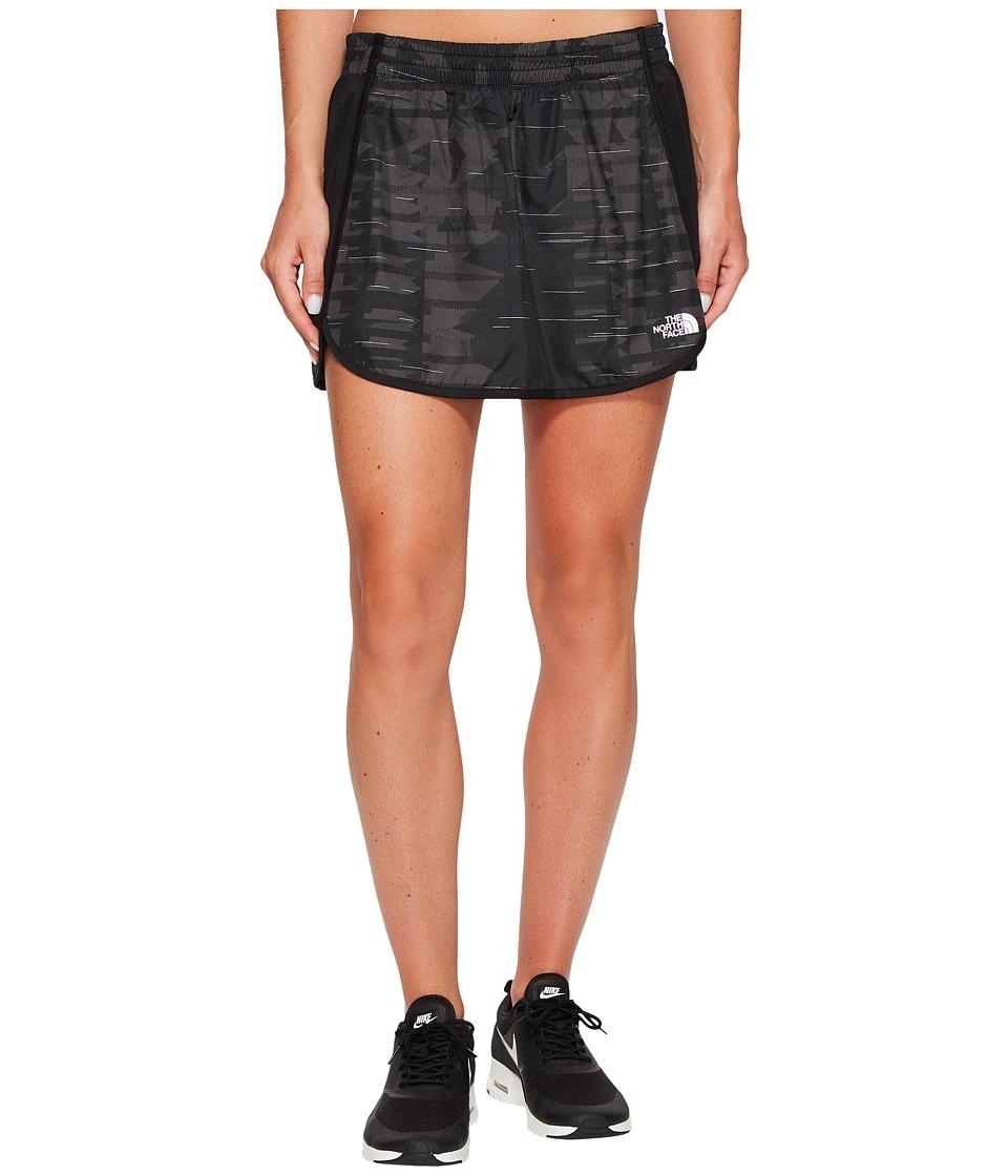 The North Face Rapida Skirt (TNF Black Reflective Print) Women