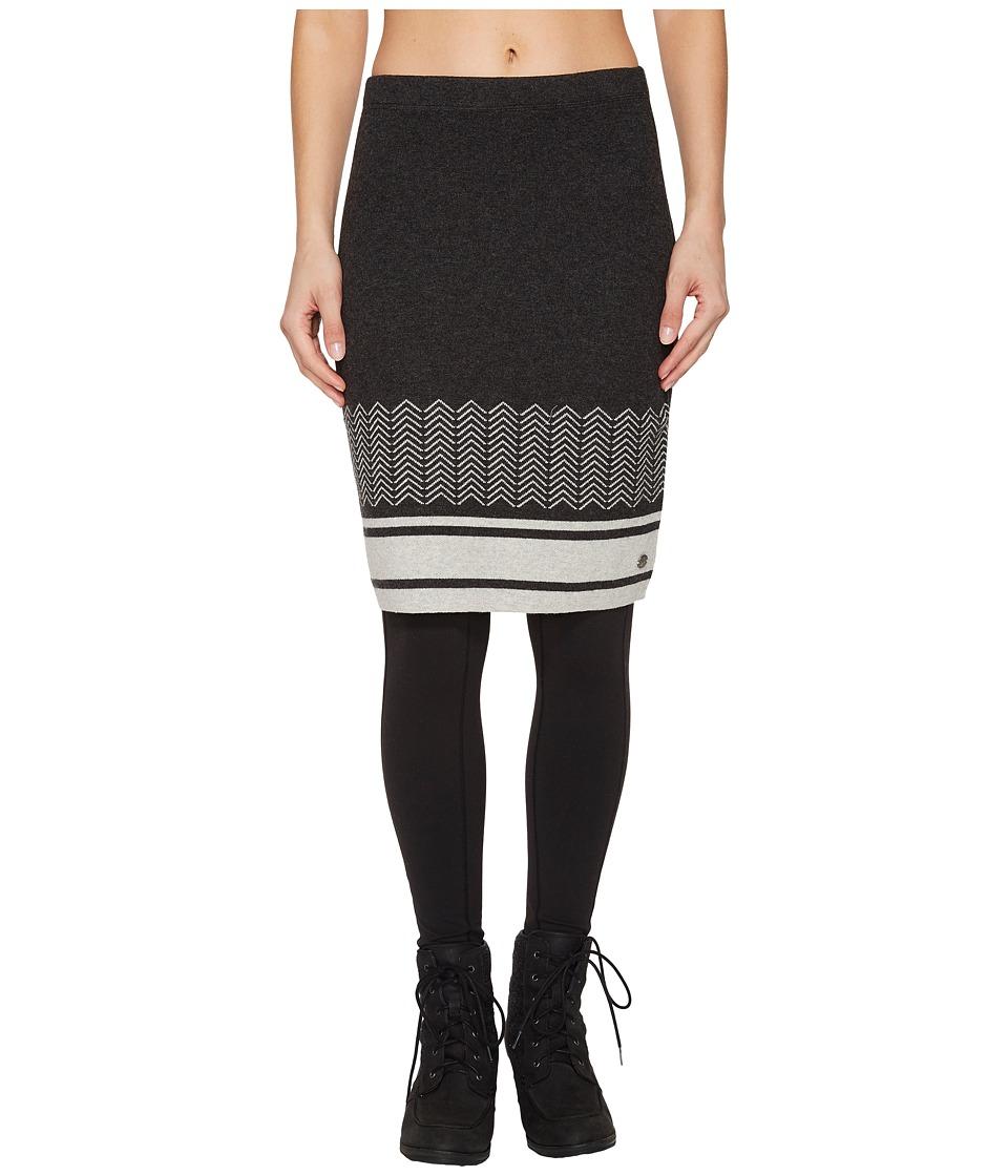 Royal Robbins All Season Merino Skirt (Charcoal) Women
