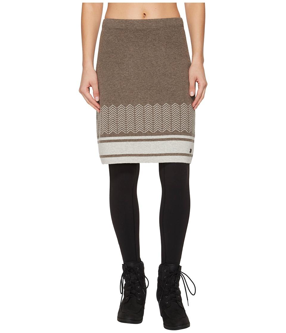 Royal Robbins All Season Merino Skirt (Turkish Coffee) Women