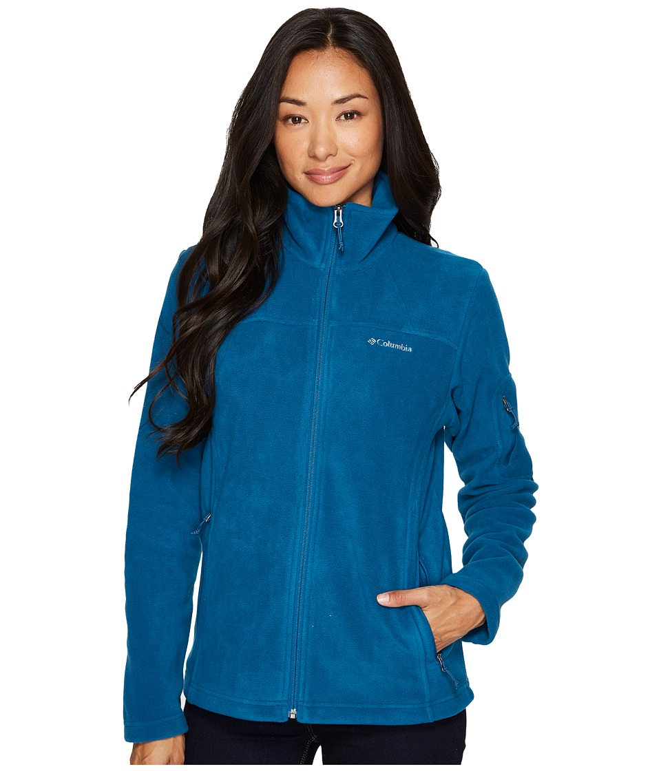 Columbia Fast Trektm II Full-Zip Fleece Jacket (Phoenix Blue) Women