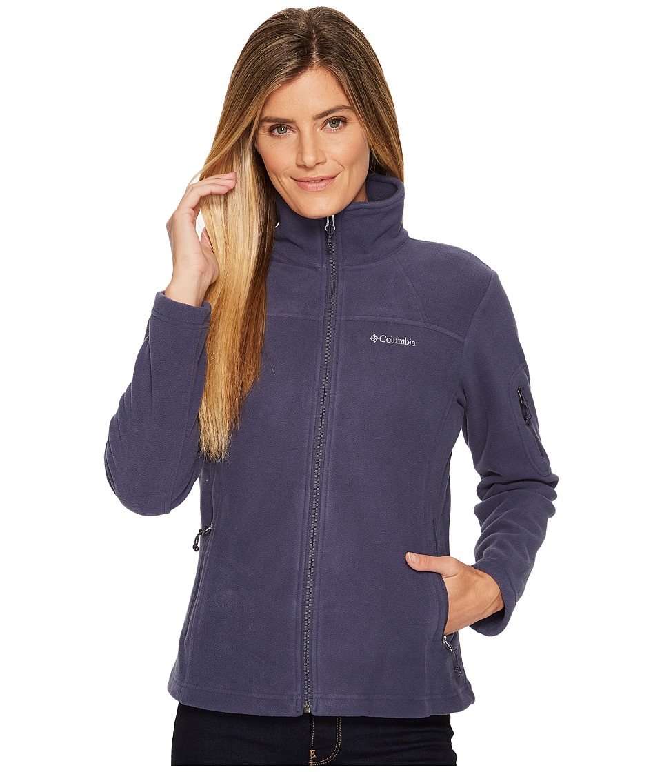Columbia Fast Trektm II Full-Zip Fleece Jacket (Nocturnal) Women