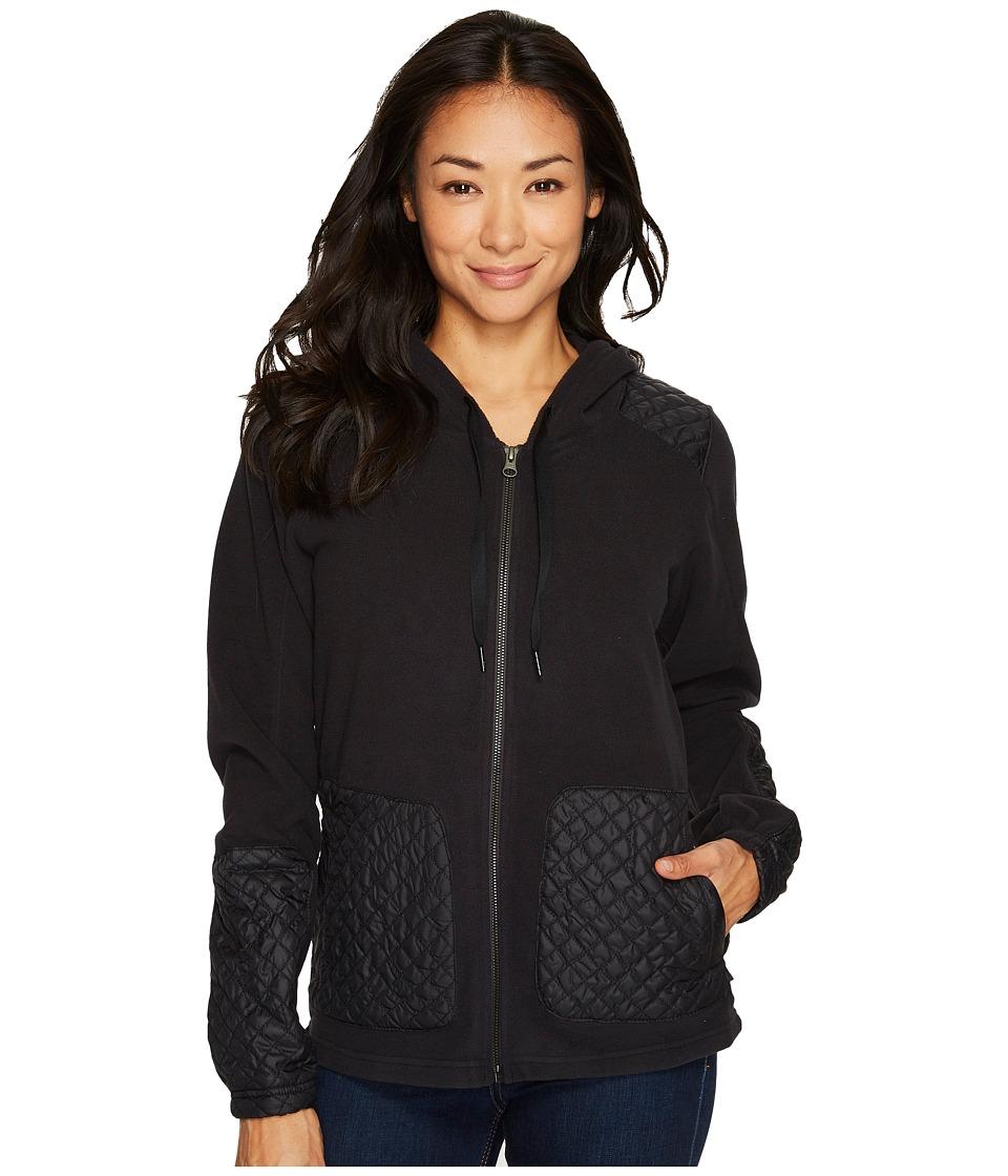 Columbia Warm Up Hooded Fleece Full Zip (Black) Women