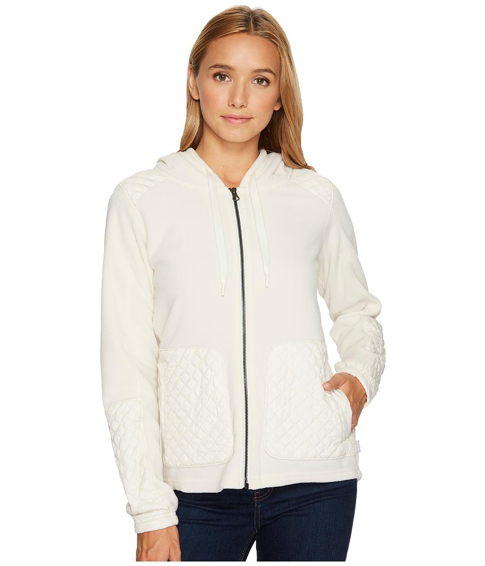 Columbia Warm Up Hooded Fleece Full Zip (Chalk) Women