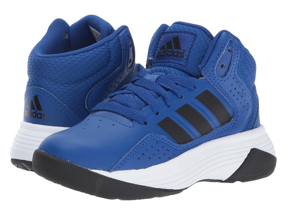 adidas Kids Cloudfoam Ilation Mid (Little Kid/Big Kid) (Collegiate Royal/Core Black/Footwear White) Kids Shoes