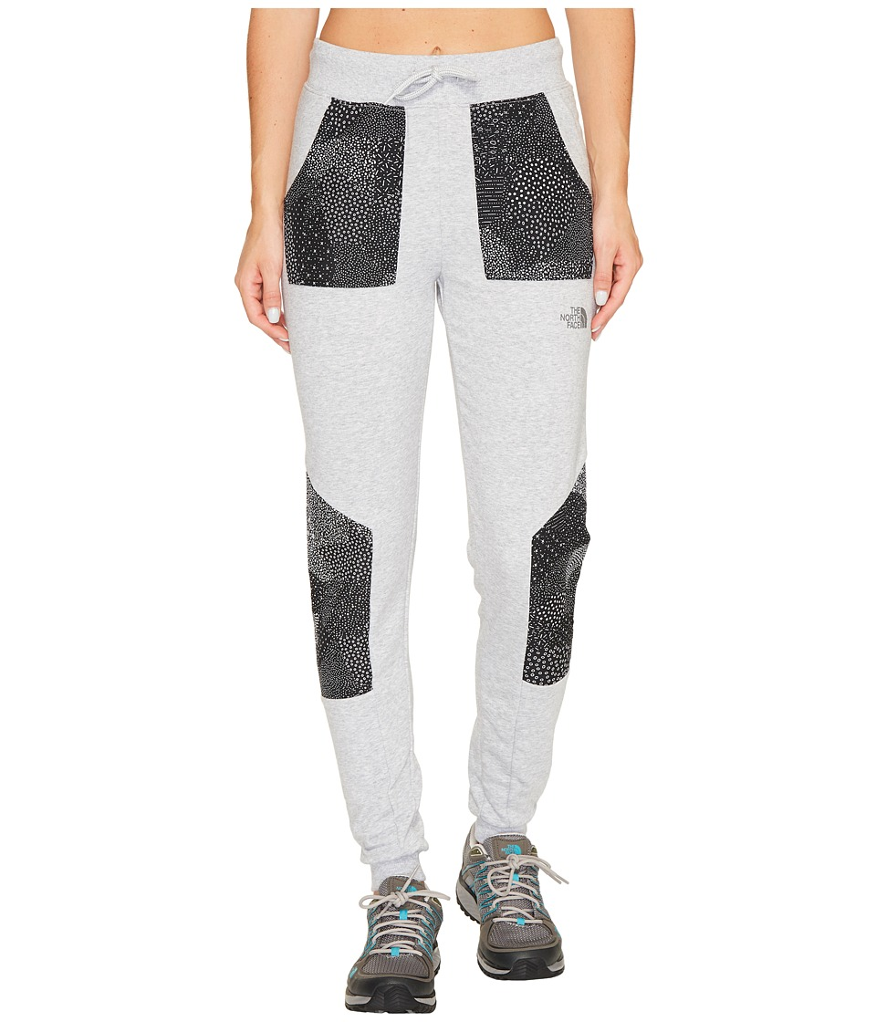 The North Face Reflective Joggers (TNF Light Grey Heather/TNF Black Igneous Reflective Print) Women