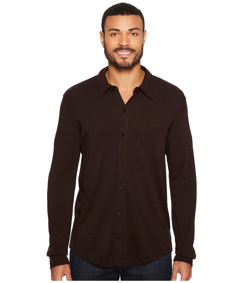 Smartwool Merino 250 Button Down Long Sleeve Shirt (Sumatra Heather) Men