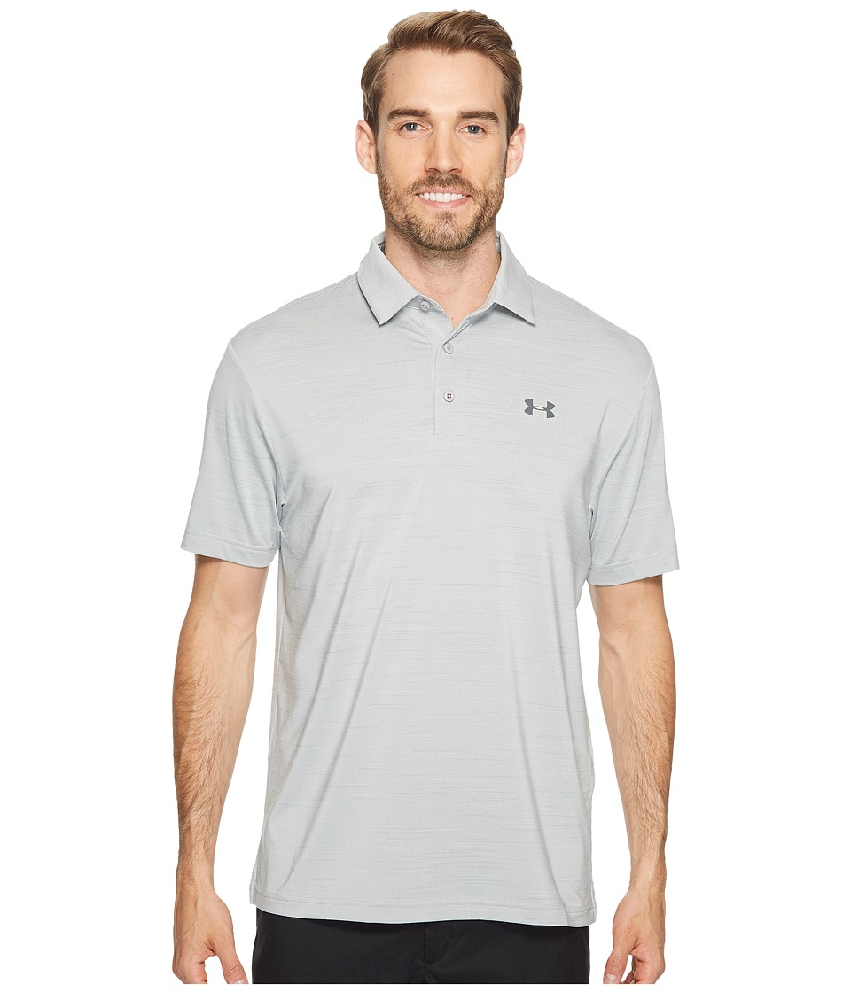 Under Armour Golf - UA Playoff Polo (Overcast Gray/Overcast Gray/Rhino Gray 2) Mens Short Sleeve Knit