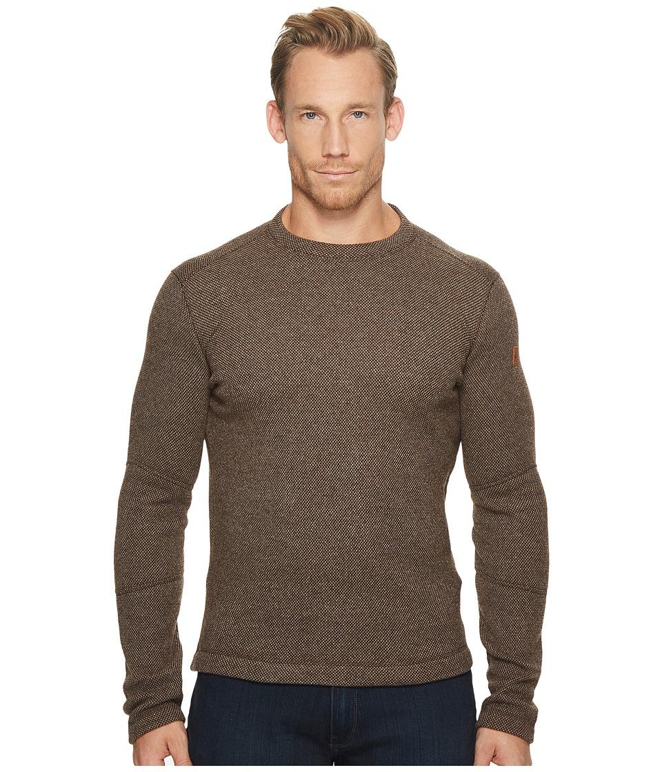 Smartwool Heritage Trail Fleece Crew Sweater (Taupe Heather) Men