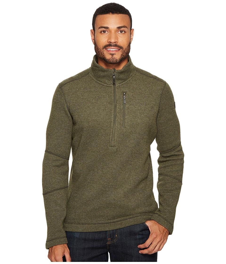Smartwool Heritage Trail Fleece 1/2 Zip Sweater (Loden) Men