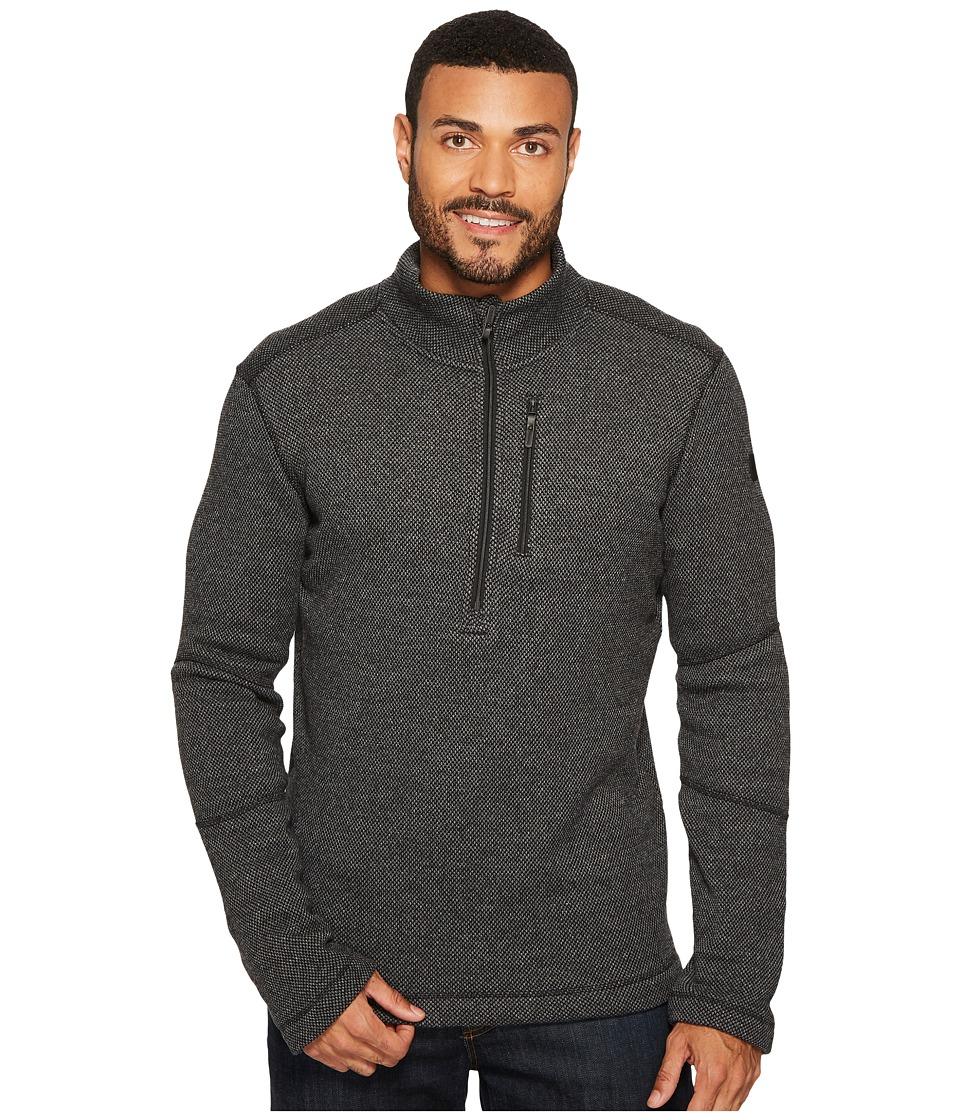 Smartwool Heritage Trail Fleece 1/2 Zip Sweater (Charcoal Heather) Men