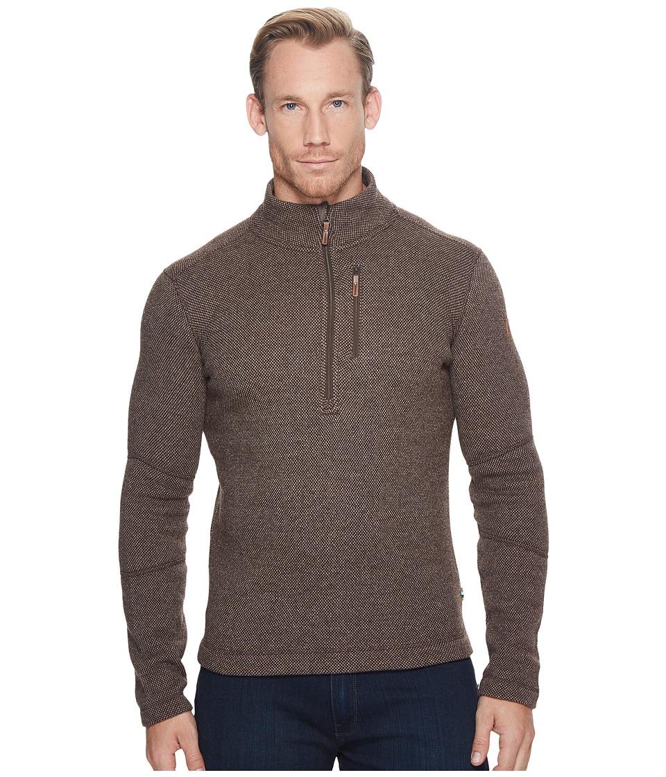 Smartwool Heritage Trail Fleece 1/2 Zip Sweater (Taupe Heather) Men