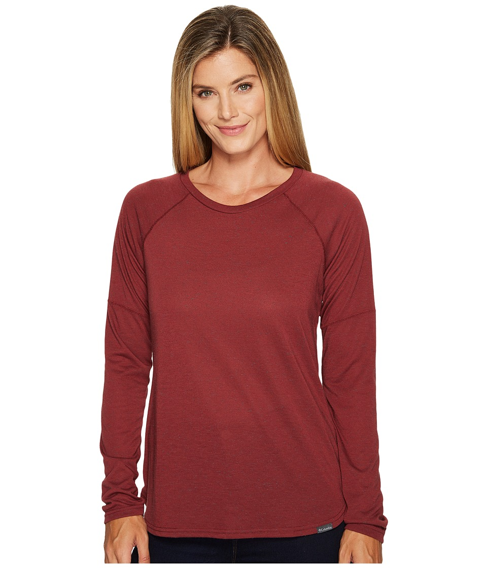 Columbia Trail Shaker II Long Sleeve Shirt (Bloodstone Heather) Women