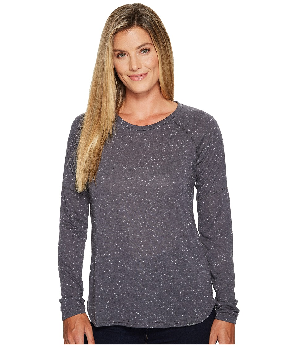 Columbia Trail Shaker II Long Sleeve Shirt (Shark Heather) Women