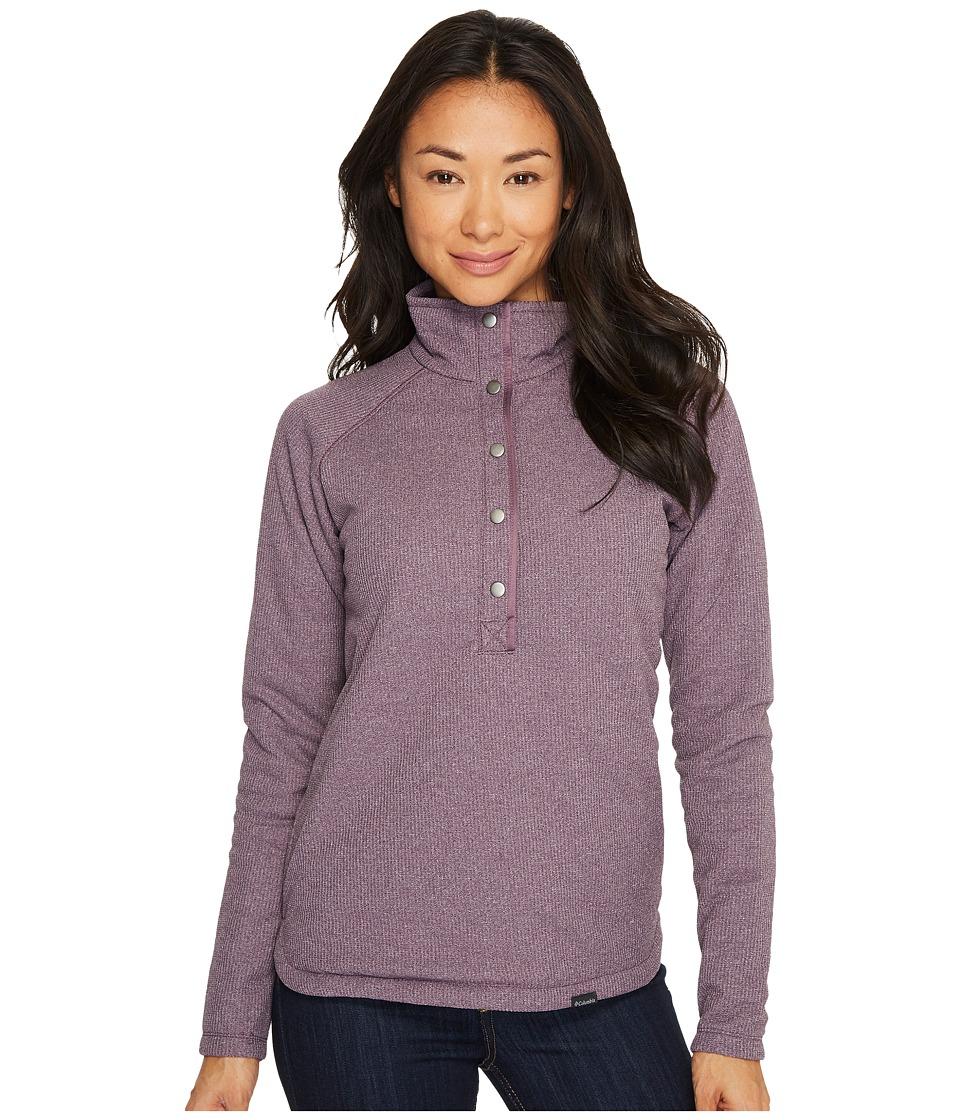 Columbia Park Range Insulated Pullover (Dusty Purple Heather) Women