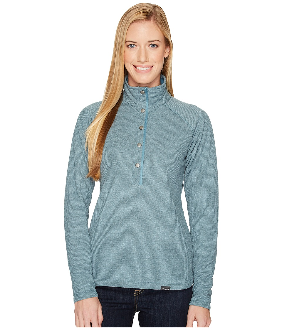 Columbia Park Range Insulated Pullover (Cloudburst Heather) Women