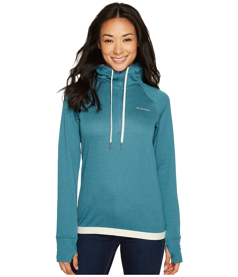 Columbia Dyer Peak 1/2 Zip Jacket (Cloudburst/Chalk) Women