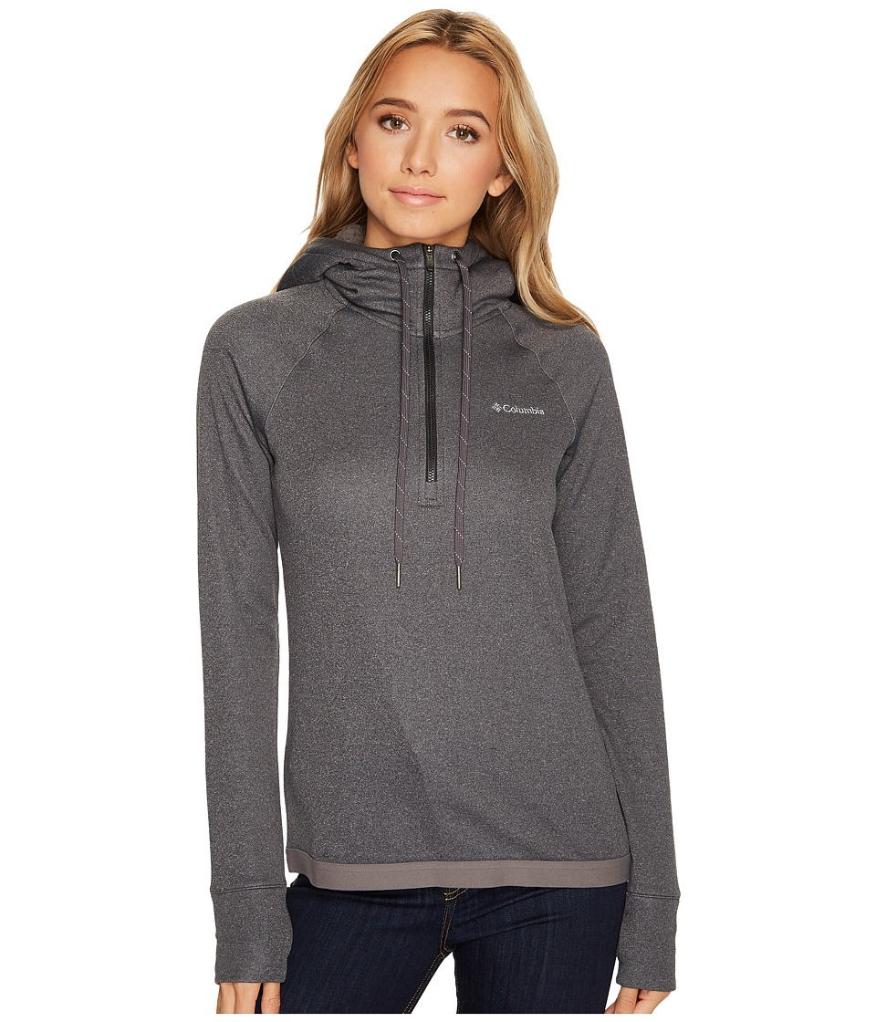 Columbia Dyer Peak 1/2 Zip Jacket (Black/Charcoal) Women