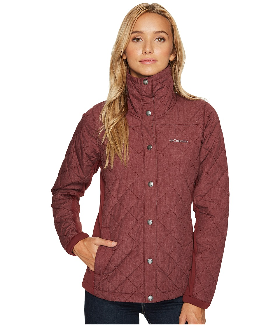 Columbia Evergreen State Jacket (Bloodstone Heather) Women