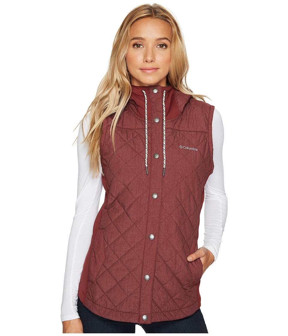 Columbia Evergreen State Vest (Bloodstone Heather) Women
