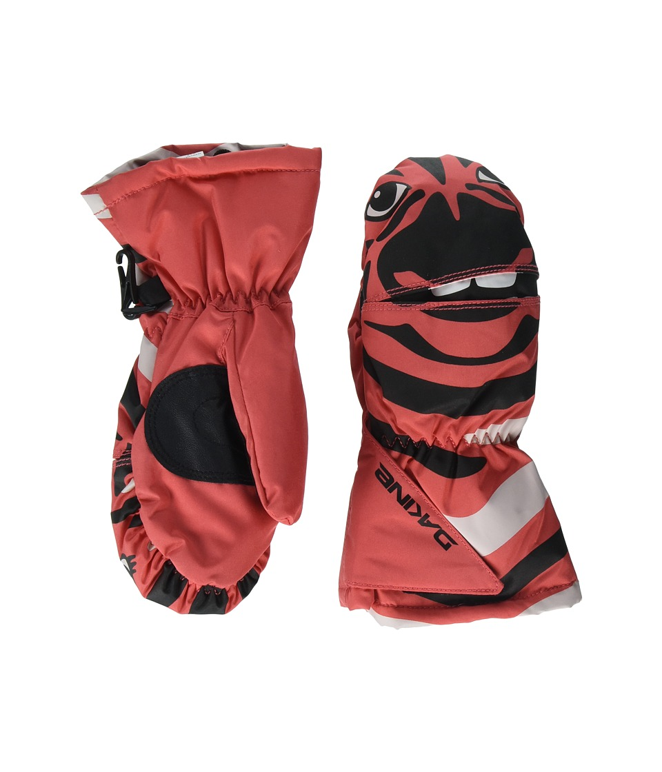 Dakine Scrambler Mitt (Youth) (Zebra) Snowboard Gloves